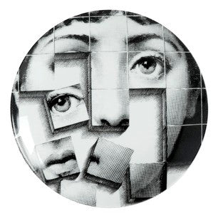 Fornasetti plate Theme & Variations series no 180