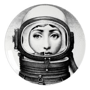 Fornasetti plate Theme & Variations series no 181