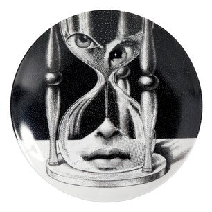 Fornasetti plate Theme & Variations series no 184