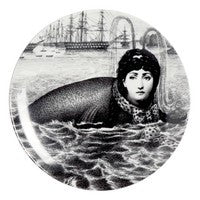 Fornasetti plate Theme & Variations series no 195