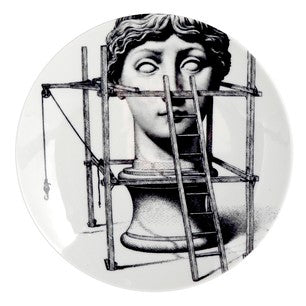 Fornasetti plate Theme & Variations series no 200