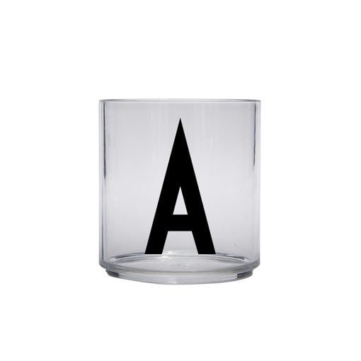 Arne Jacobsen ABC Design Letters Kids personal drinking glass