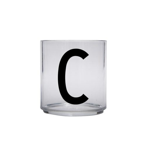 Kids personal Tritan drinking glass A-Z