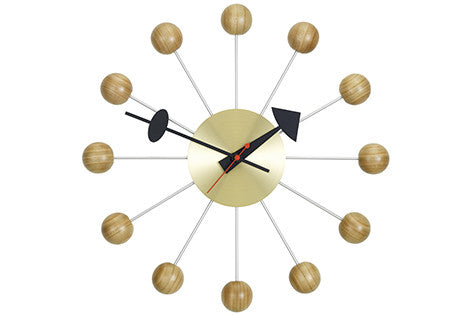 Ball clock by George Nelson for Vitra