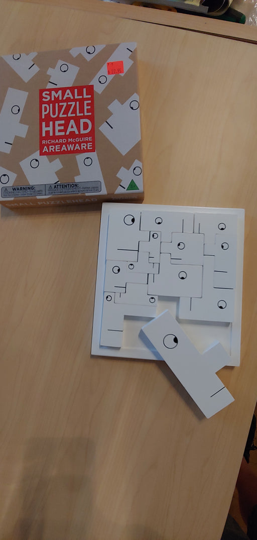 Areaware Small puzzle head