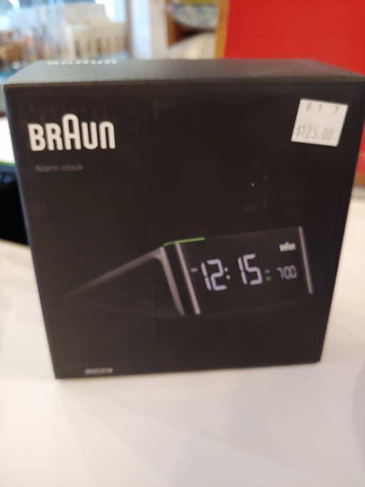 Braun alarm clock digital