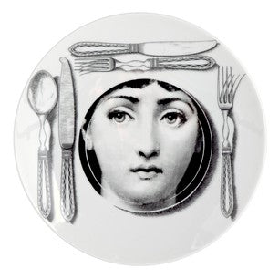 Fornasetti plate Theme & Variations series no 203