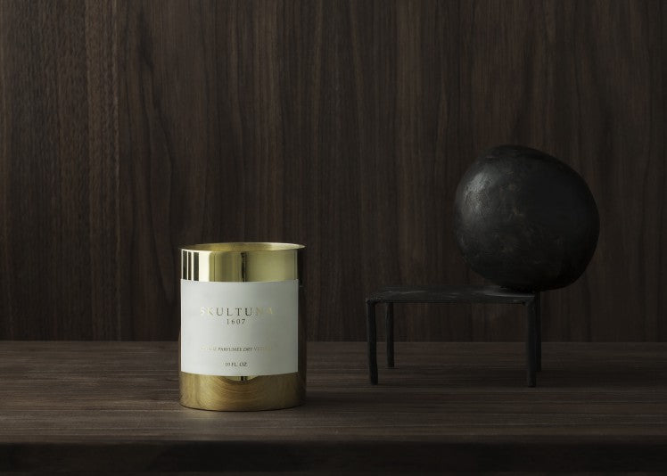SKULTUNA SCENTED CANDLES - DRY VETIVER