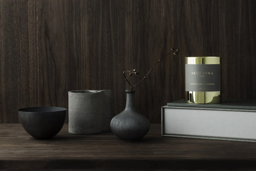 SKULTUNA SCENTED CANDLES - BLACK CASHMERE