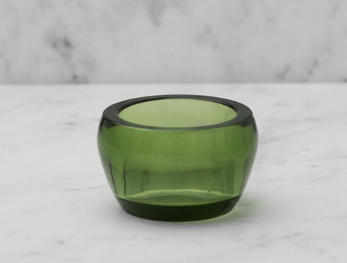 SKULTUNA Candle Holder Kin Glass, Single Green