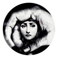 Fornasetti plate Theme & Variations series no 219