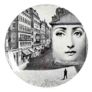 Fornasetti plate Theme & Variations series no 223