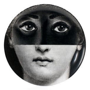 Fornasetti plate Theme & Variations series no 225
