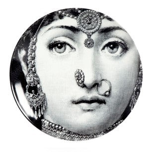 Fornasetti plate Theme & Variations series no 228