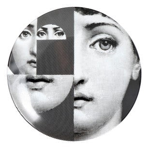 Fornasetti plate Theme & Variations series no 230