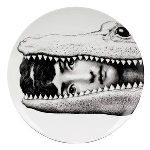 Fornasetti plate Theme & Variations series no 130