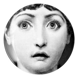 Fornasetti plate Theme & Variations series no 237