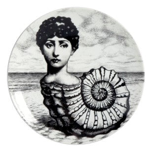 Fornasetti plate Theme & Variations series no 239