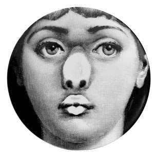 Fornasetti plate Theme & Variations series no 254