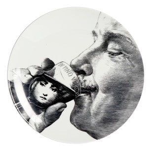 Fornasetti plate Theme & Variations series no 256