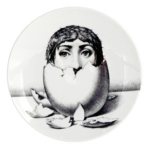 Fornasetti plate Theme & Variations series no 258