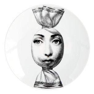 Fornasetti plate Theme & Variations series no 262