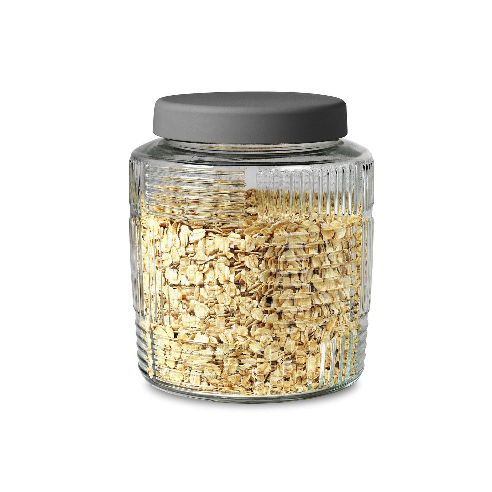 Storage Jar - Grey lid, 2.1 Qt