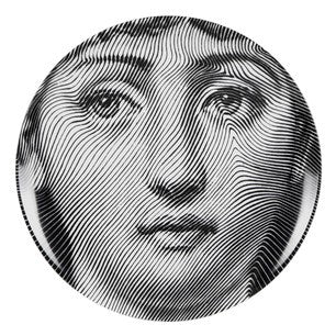 Fornasetti plate Theme & Variations series no 270