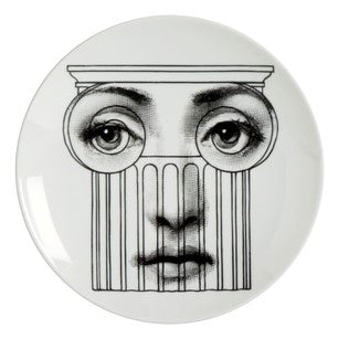 Fornasetti plate Theme & Variations series no 278