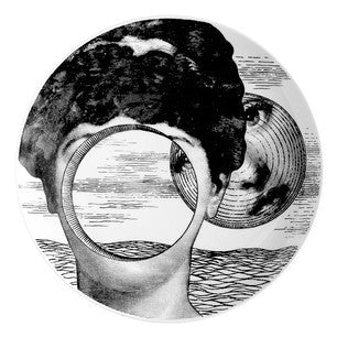 Fornasetti plate Theme & Variations series no 279