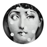 Fornasetti plate Theme & Variations series no 027