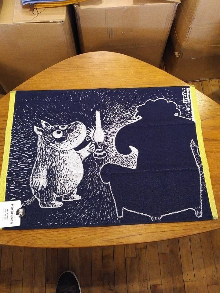 Finlayson HAND TOWEL MOOMIN AND THE ANCESTOR 50X70