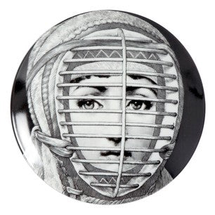 Fornasetti plate Theme & Variations series no 290