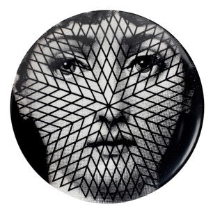 Fornasetti plate Theme & Variations series no 294