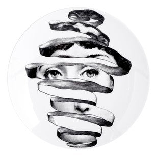 Fornasetti plate Theme & Variations series no 297