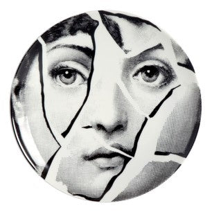 Fornasetti plate Theme & Variations series no 002