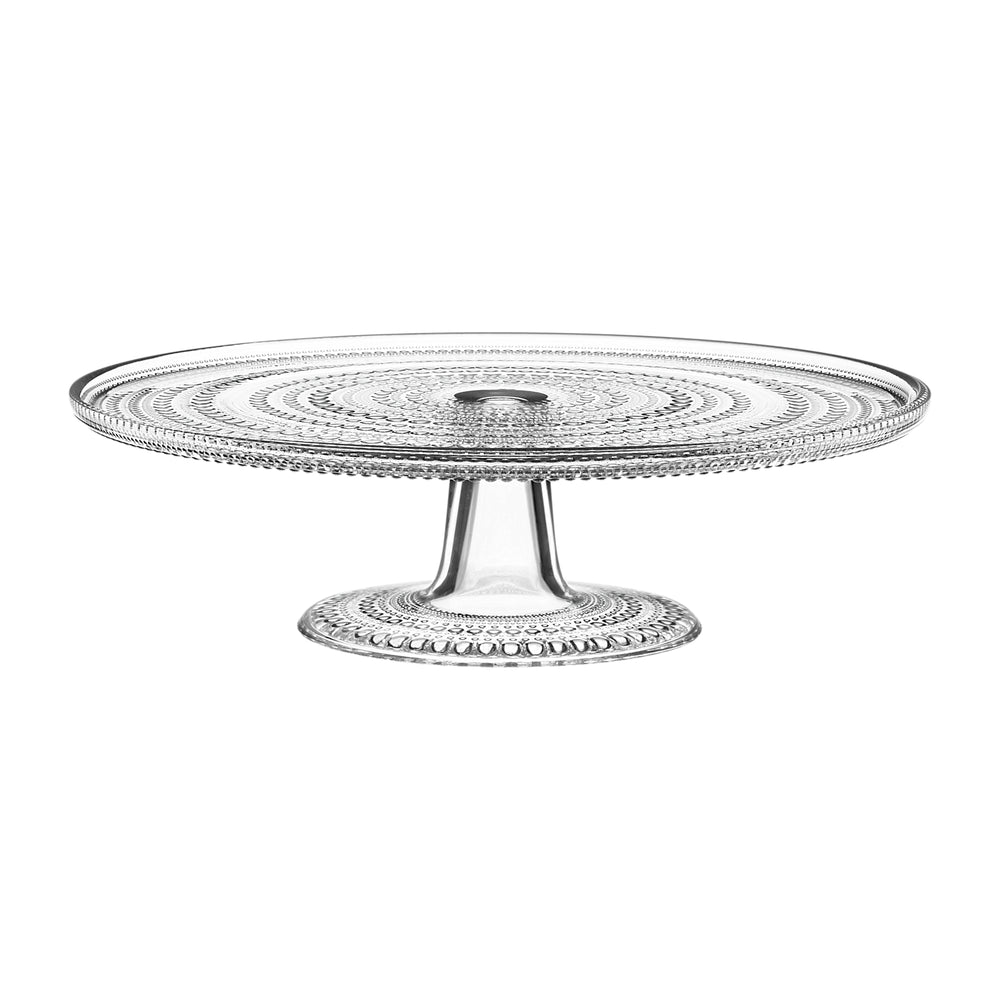 iittala Kastehelmi glass cake stand 315 mm or 240mm