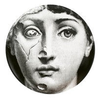 Fornasetti plate Theme & Variations series no 378