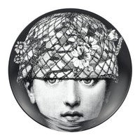 Fornasetti plate Theme & Variations series no 384