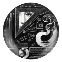 Fornasetti plate Theme & Variations series no 391