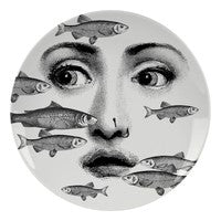 Fornasetti plate Theme & Variations series no 392