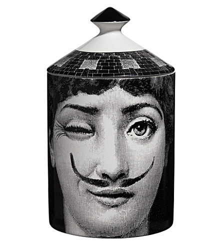 Fornasetti candle Moustache 300g
