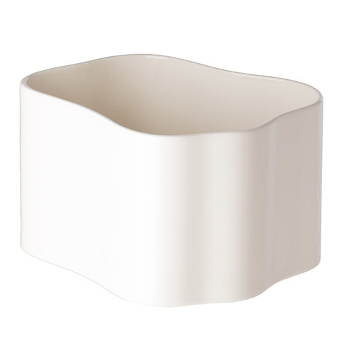 Artek Riihitie plant pot B, medium, white gloss