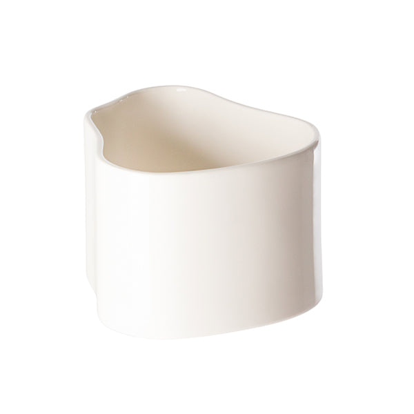 Artek Riihitie plant pot A, small, white gloss