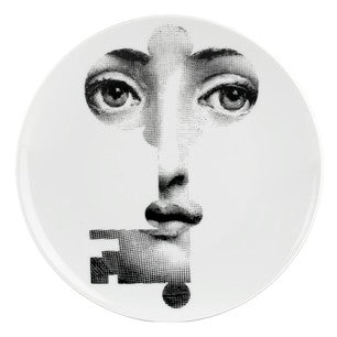 Fornasetti plate Theme & Variations series no 047