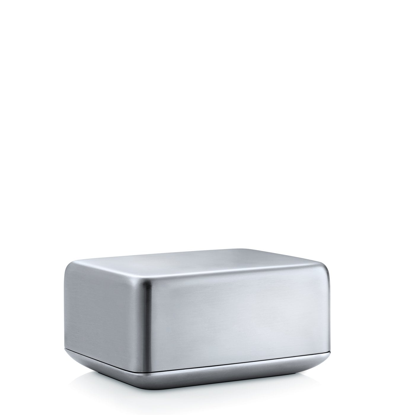 Butter Dish Stainless steel matt Medium BASIC