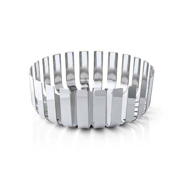 STAINLESS STEEL FRUIT BOWL - POLISHED