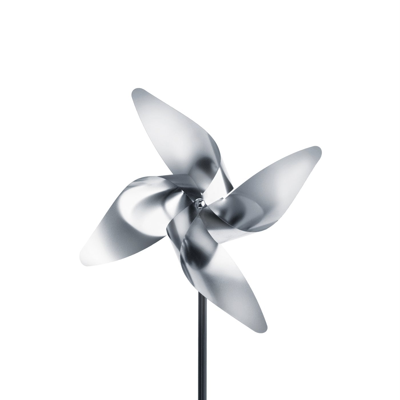 Pinwheel Stainless steel matt VIENTO (3 sizes)