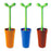 Alessi Toilet brush - Merdolino blue