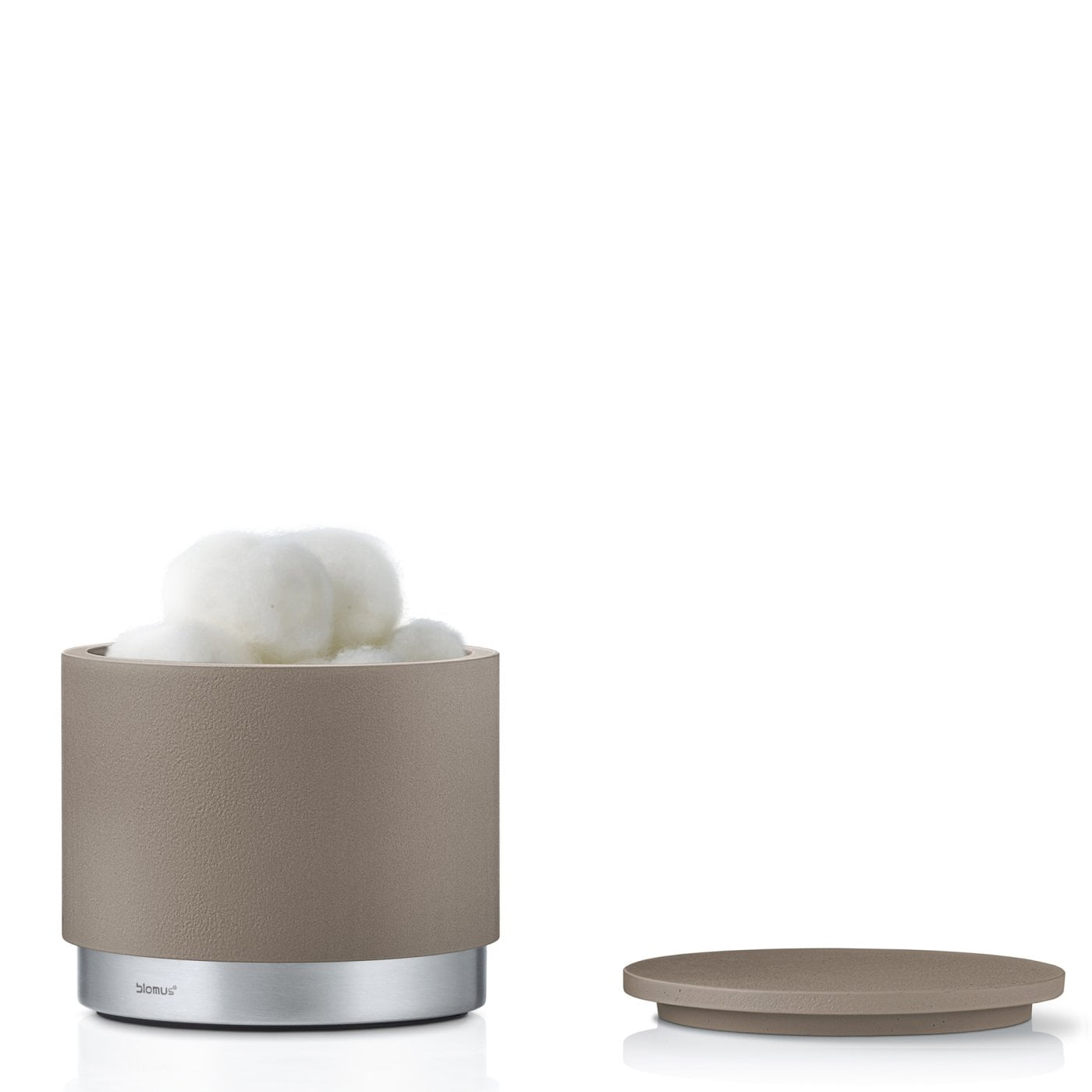 ARA SOAP STORAGE CANISTER BOX - Taupe